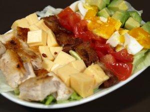 Prøv også Cobb salat 2.