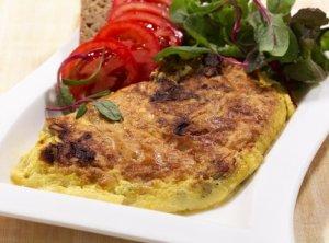 Prøv også Omelett med ost til frokost.