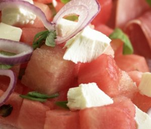 Prøv også Melon og fetaostsalat.