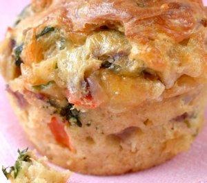 Prøv også Muffins med ost og grønnsaker.