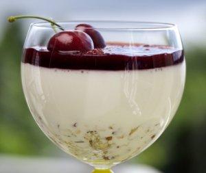Prøv også Ostekake på glass.