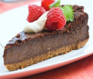 Prøv også Ostekake med sjokolade og kremost.