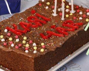 Les mer om Sjokoladekake i langpanne 6 hos oss.