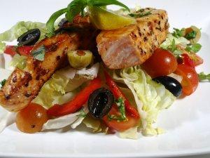 Prøv også Pannestekt laks på salat.