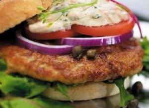 Prøv også Kyllingburgere med sjampinjongsaus.
