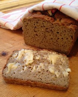 Teff brød - glutenfritt oppskrift.