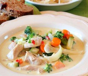 Prøv også Kalkun med gorgonzola og pasta.