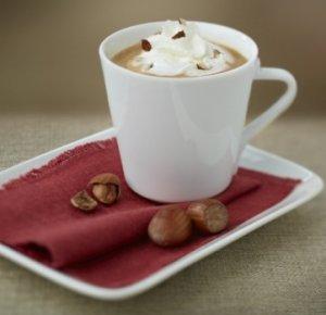 Prøv også Chiboust coffee cream with chopped hazelnuts.