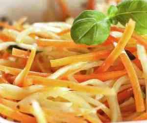 Prøv også Squash- og gulrotspagetti.
