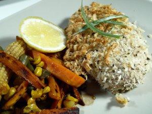 Prøv også Bakt kylling med hvitløk og parmesan.