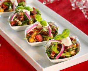Prøv også Hvit bønnesalat med pinnekjøtt.