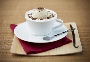 Prøv også Hot-iced Vanilla Coffee with Caramel Milk Froth.