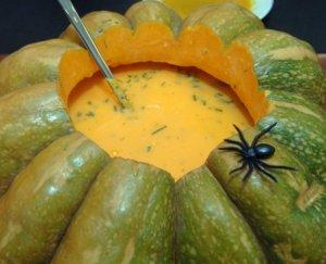 Prøv også Gresskarsuppe med koriander.