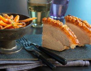 Prøv også Skinkestek med appelsinkokte gulrøtter.