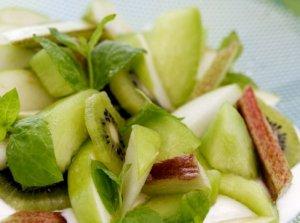 Prøv også Grønn fruktsalat.
