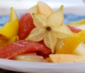 Prøv også Gul fruktsalat.
