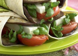 Prøv også Grønnsakswraps med feta.