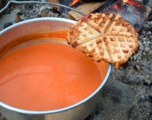 Prøv også Tomatsuppe på tur.