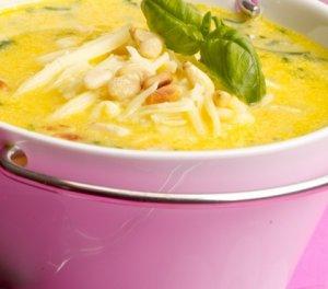 Prøv også Søtpotetsuppe med ost.
