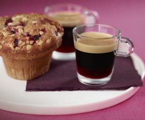 Prøv også Coffee with blackberry liqueur & summer fruit muffins.
