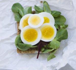 Prøv også Kokt egg og salat.