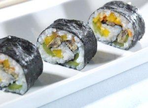Prøv også Maki sushi med sardiner.
