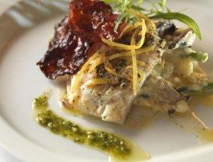 Prøv også Sitronposjert tørrfisk med sopprisotto.