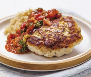 Prøv også Seiburger med tomatsalsa og ris.