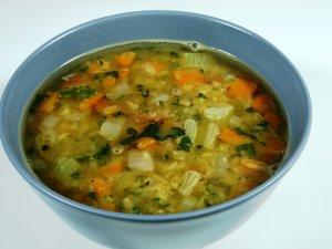 Prøv også Enkel linsesuppe med røde linser.