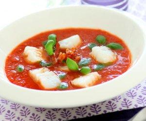 Prøv også Tomatsuppe med skrei, parmesan og pepperoni.