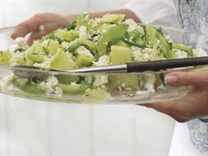 Prøv også Agurk- og melonsalat.