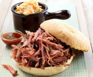Prøv også Pulled pork med coleslaw.