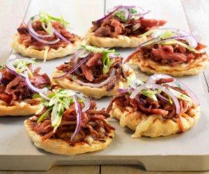 Prøv også Pulled pork bbq-pizza.