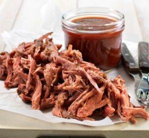 Prøv også Pulled pork med bbq-saus.