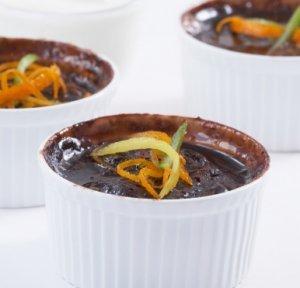 Prøv også Flytende sjokolade og appelsinpudding.