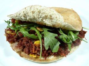 Prøv også Pita med corned beef.