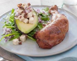 Prøv også Kyllinglår med avokado og feta.