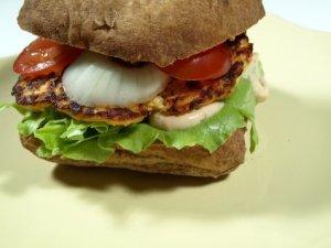 Prøv også Lakseburger i ciabatta brød.