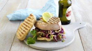 Prøv også Grillet kalkunburger med asiatisk kålsalat.