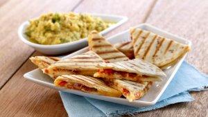 Prøv også Grillet quesedilla med chorizo og cheddar.
