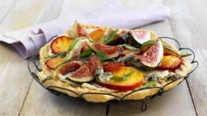 Prøv også Dessertpizza med fiken og blåmuggost.