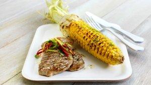 Prøv også Hot grillet skinkebiff med maiskolbe.
