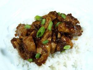 Prøv også Søt, klisset og krydret kylling med ris.