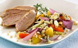Prøv også Bakte grønnsaker med krydret apetina.