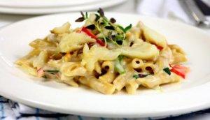 Prøv også Klippfisk med pasta og ostesaus.