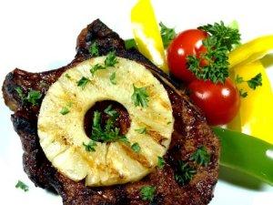 Prøv også Kotelett med grillet ananas.