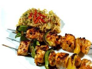 Prøv også Fiskespyd med thai nudelsalat.