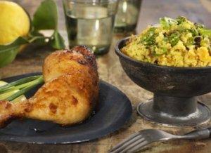Prøv også Marinert kyllinglår med couscous.