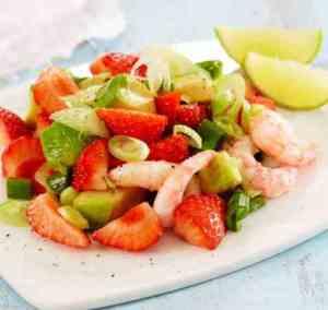 Prøv også Jordbærsalat med reker.