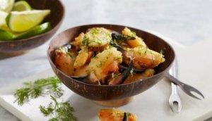 Prøv også Krabbeklør med hvitløk og lime.